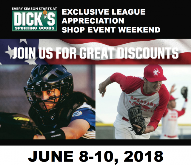 7c21118f46e Dick's Sporting Goods June 8th - 10th, 2018 – 20% Coupon valid all day!