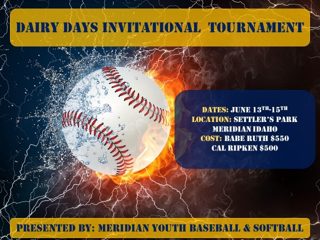 Meridian Youth Baseball - Powered by BabeRuth